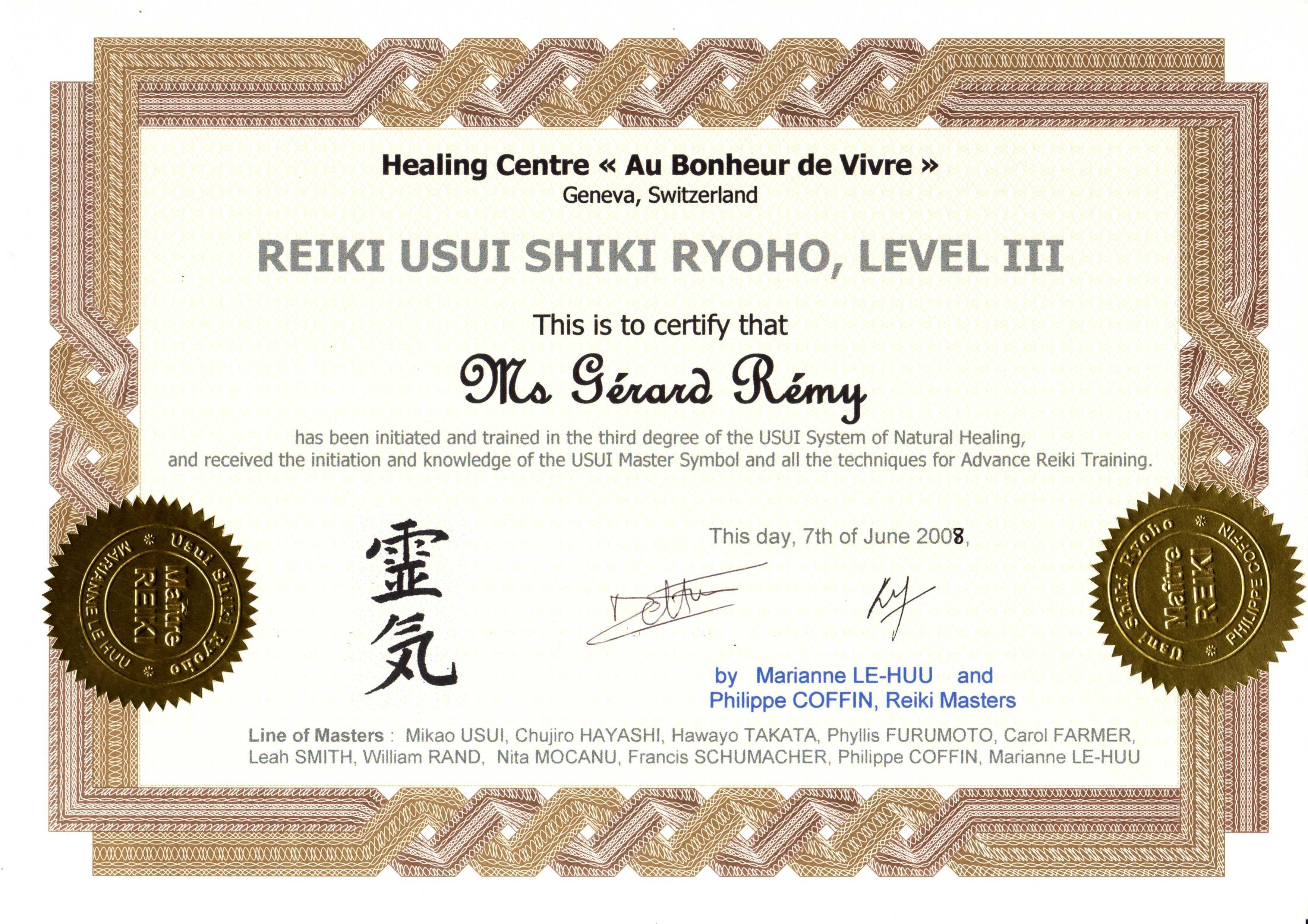 Certificats Et Ligne Praticiens Enseignants Energtique Et